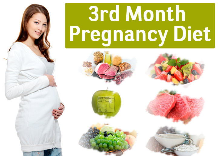 3rd Month Of Pregnancy Diet - Which Foods To Eat And Avoid?