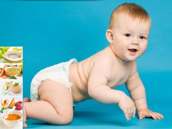 7-Month-Old Baby's Food: Solids, Food Chart And Recipes