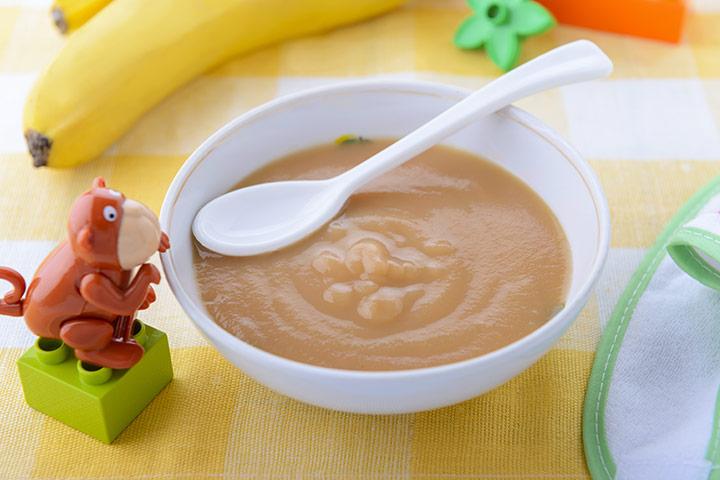 Banana-puree
