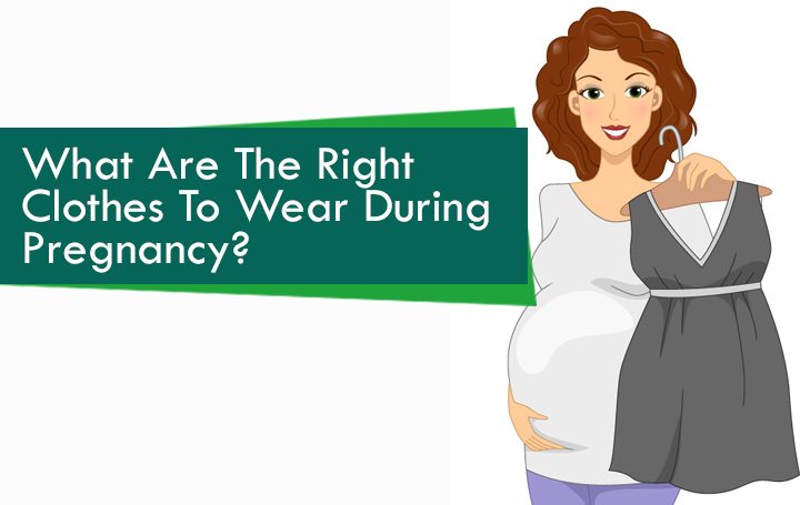 052d93795be Pregnant woman holding Dress. Image  Shutterstock. Maternity Clothing ...
