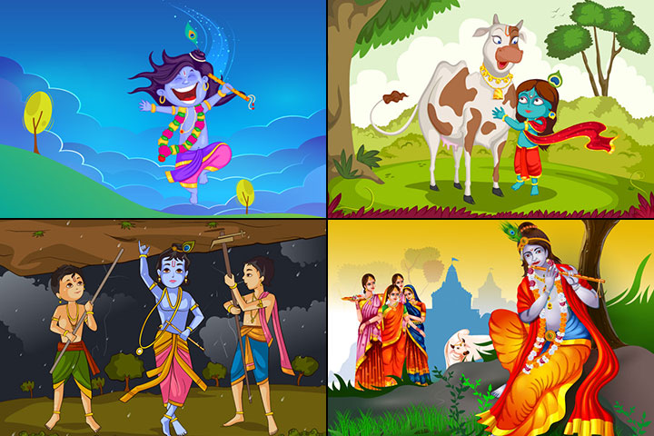 17 Best Lord Krishna Stories For Kids