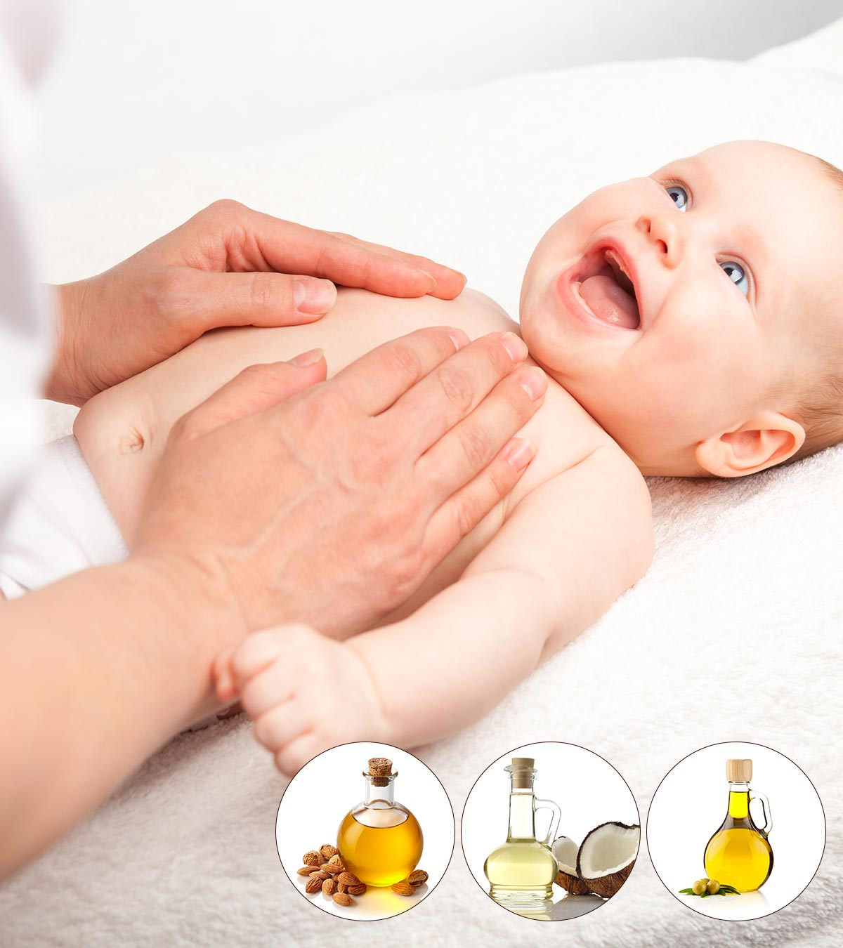 Top 10 Baby Massage Oils - Know What's Best For Your Baby