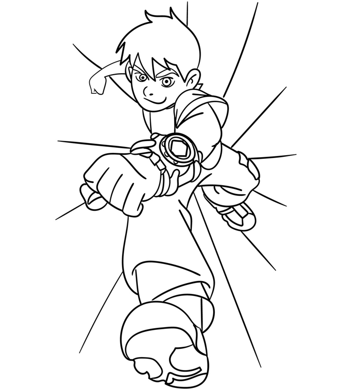 - Ben 10 Coloring Pages : 20 Free Printable For Little Ones
