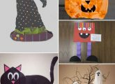 24 Best And Simple Halloween Crafts For Kids