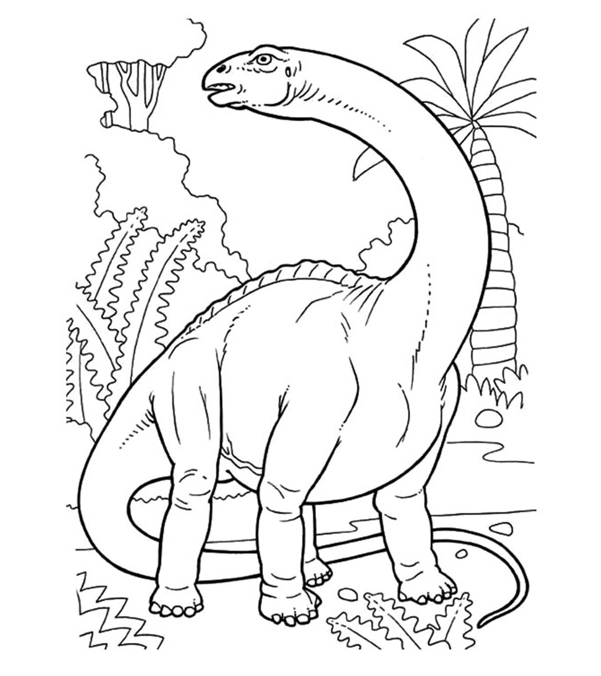 - Top 35 Free Printable Unique Dinosaur Coloring Pages Online