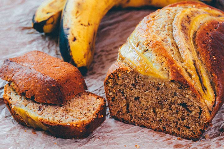 Banana Bread Finger Food Ideas Pictures