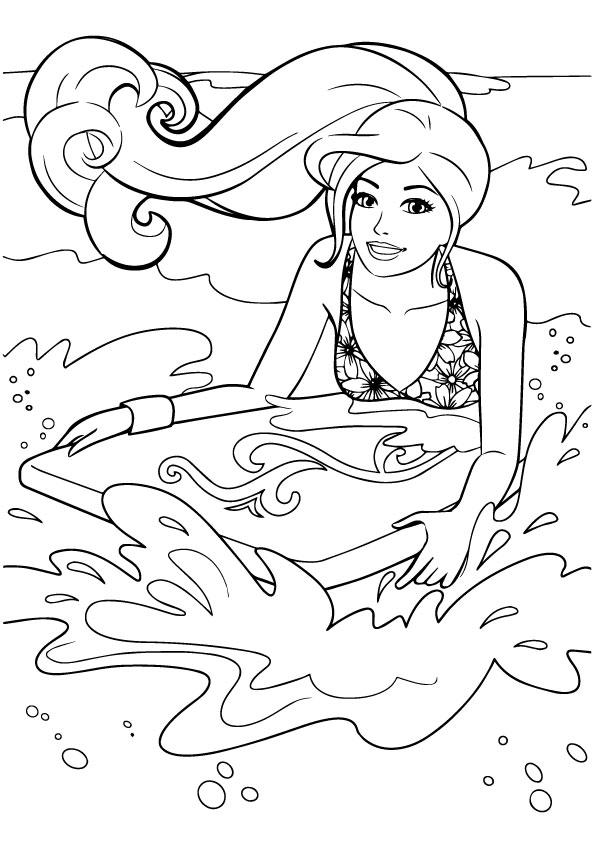 Barbie-Surf-On-Beach