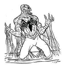 Black-Spiderman