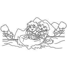Diego-and-Dora-in-a-Boat-16