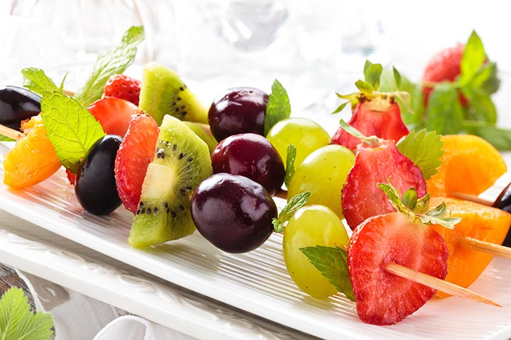 Fruit On A Stick - Party Easy Finger Food Ideas Pictures