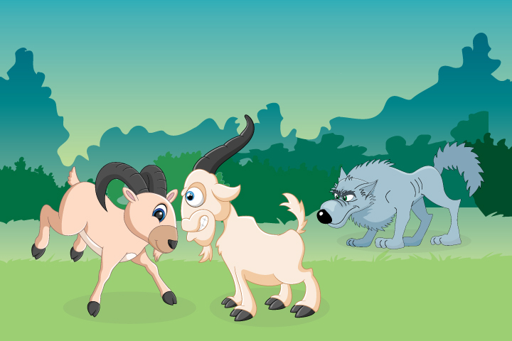 Goats And Jackal