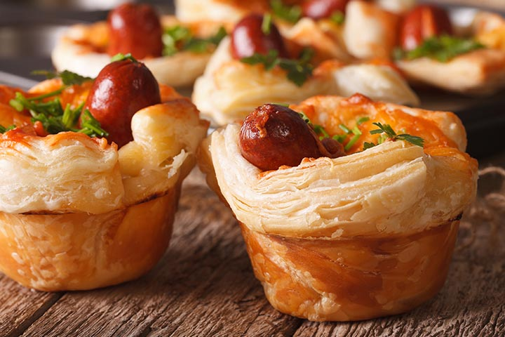Mini Corndog Muffins - Easy Finger Foods For A Crowd