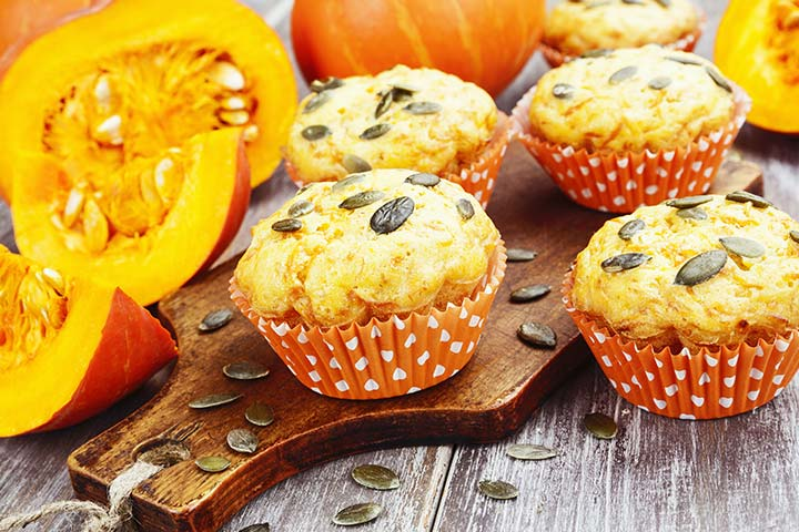 Pumpkin Muffins - Quick Easy Finger Food Recipes Pictures