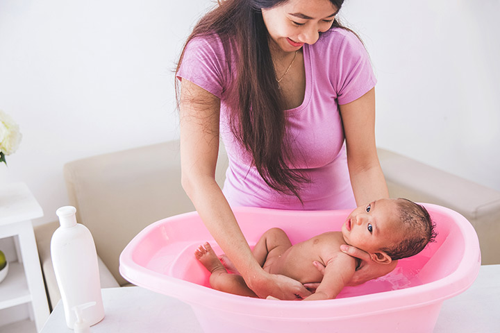 Put your baby in the tub