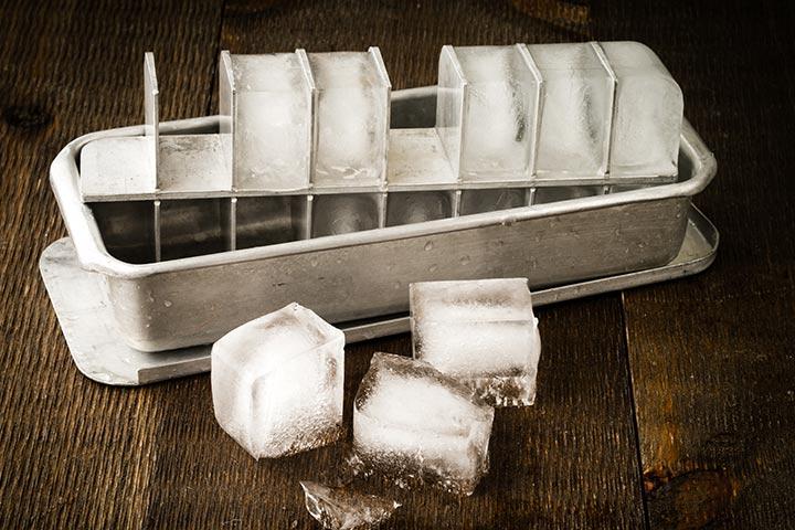 Sliding Ice Cubes