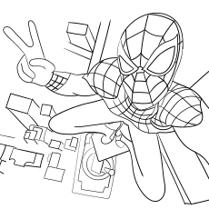 Spiderman-From-Top-Of-The-Tower