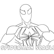 Spiderman-Scarlet