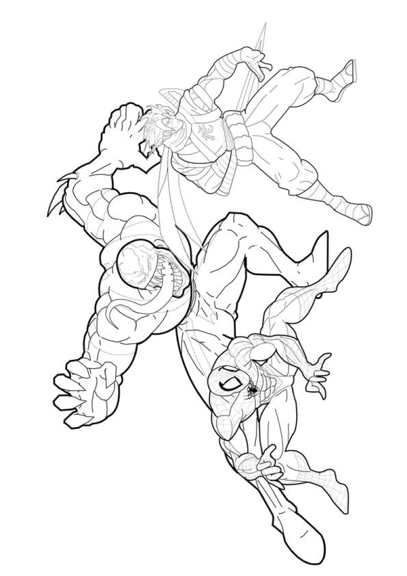 Spiderman-vs-Venom