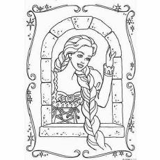 The-Barbie-As-Rapunzel-color-page