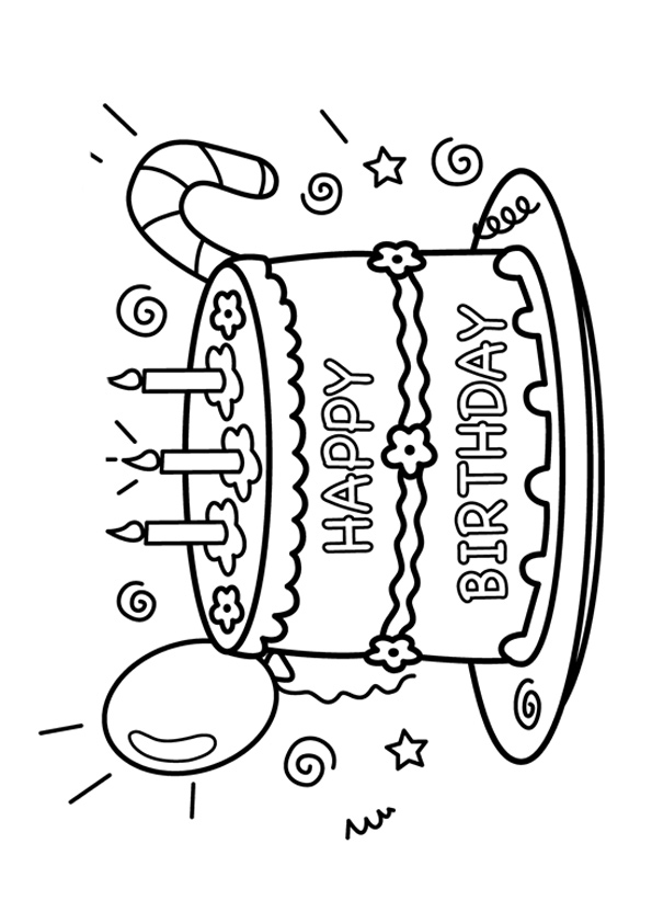 The-Birthday-Cake-coloring-page