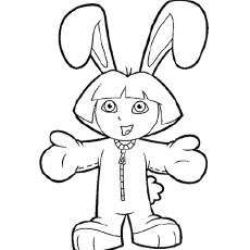 The-Dora-Dressed-As-Bunny