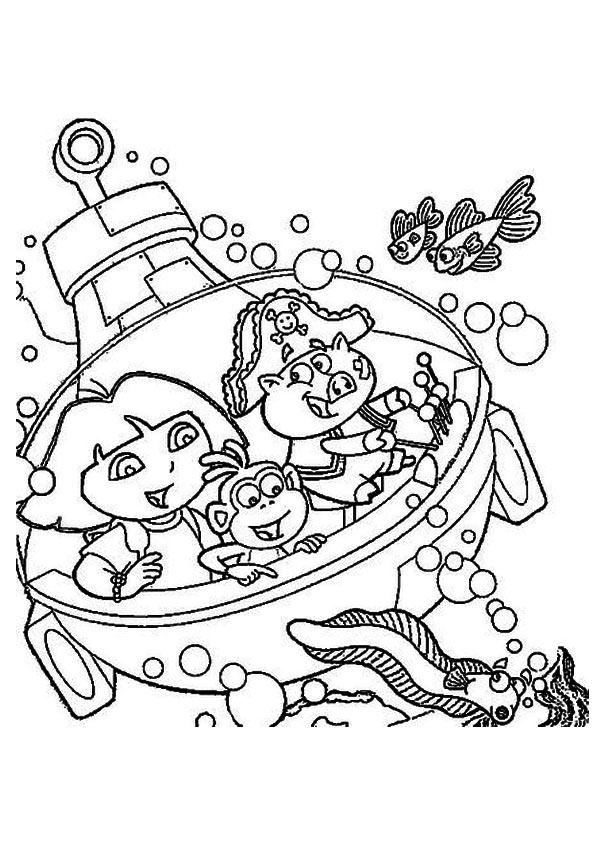 The-Dora-Exploring-Under-the-Sea
