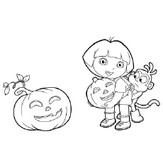 The-Dora-In-A-Halloween