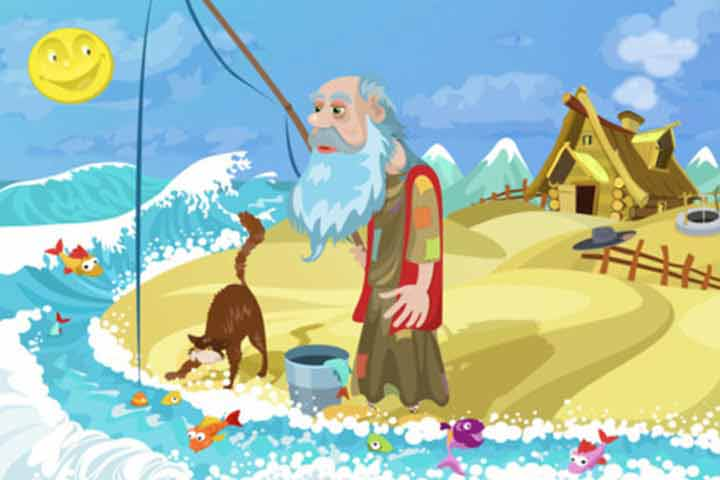 Animal Stories - The Fisherman And The Little Fish