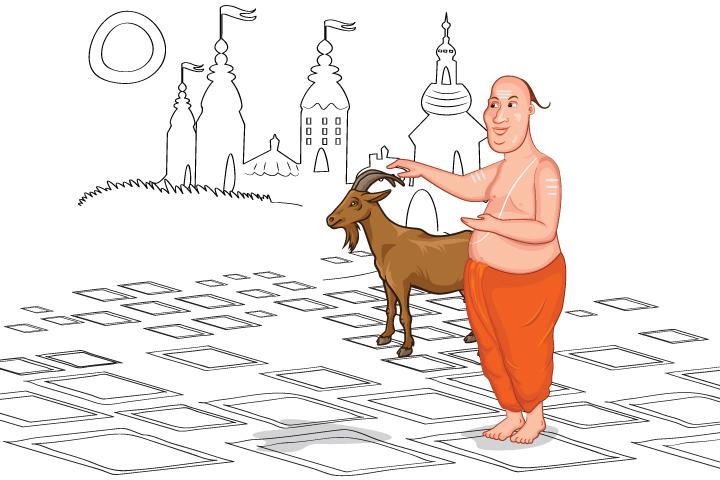 The Foolish Brahmin And The Crooks