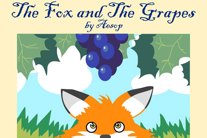 Animal Stories - The Fox And The Grapes