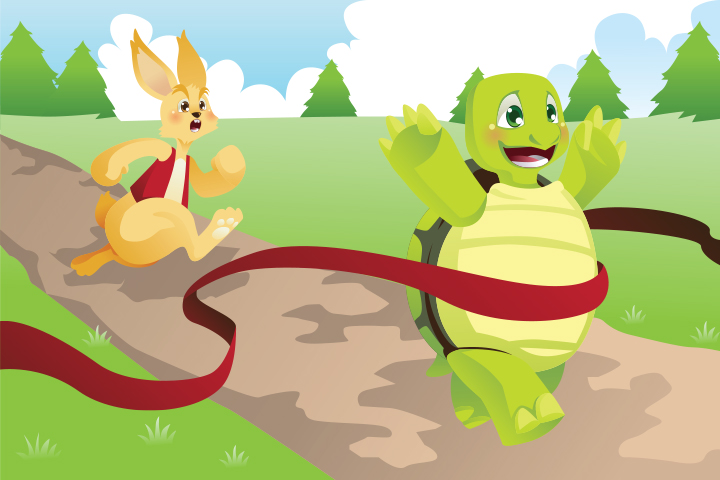 Animal Stories - The Hare And The Tortoise