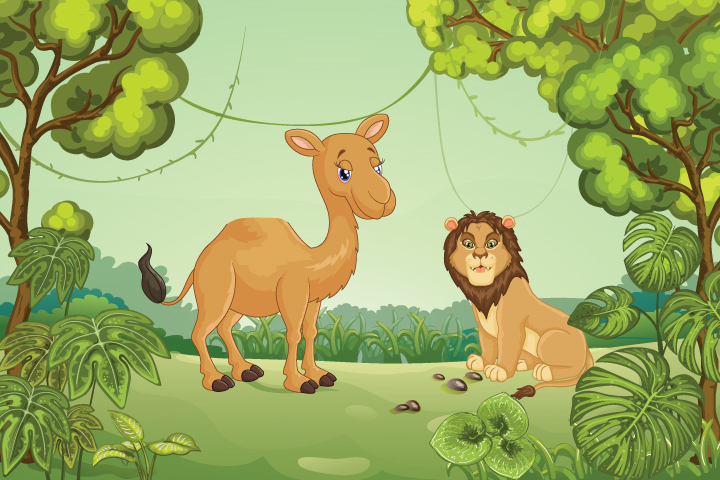 The Lion And The Camel