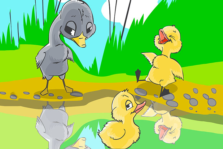 Animal Stories - The Ugly Duckling