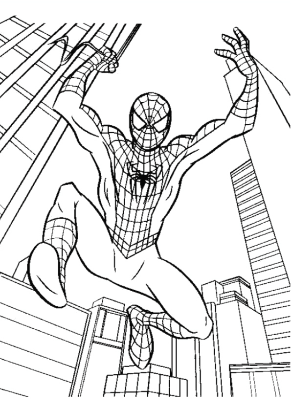 spiderman-jumping