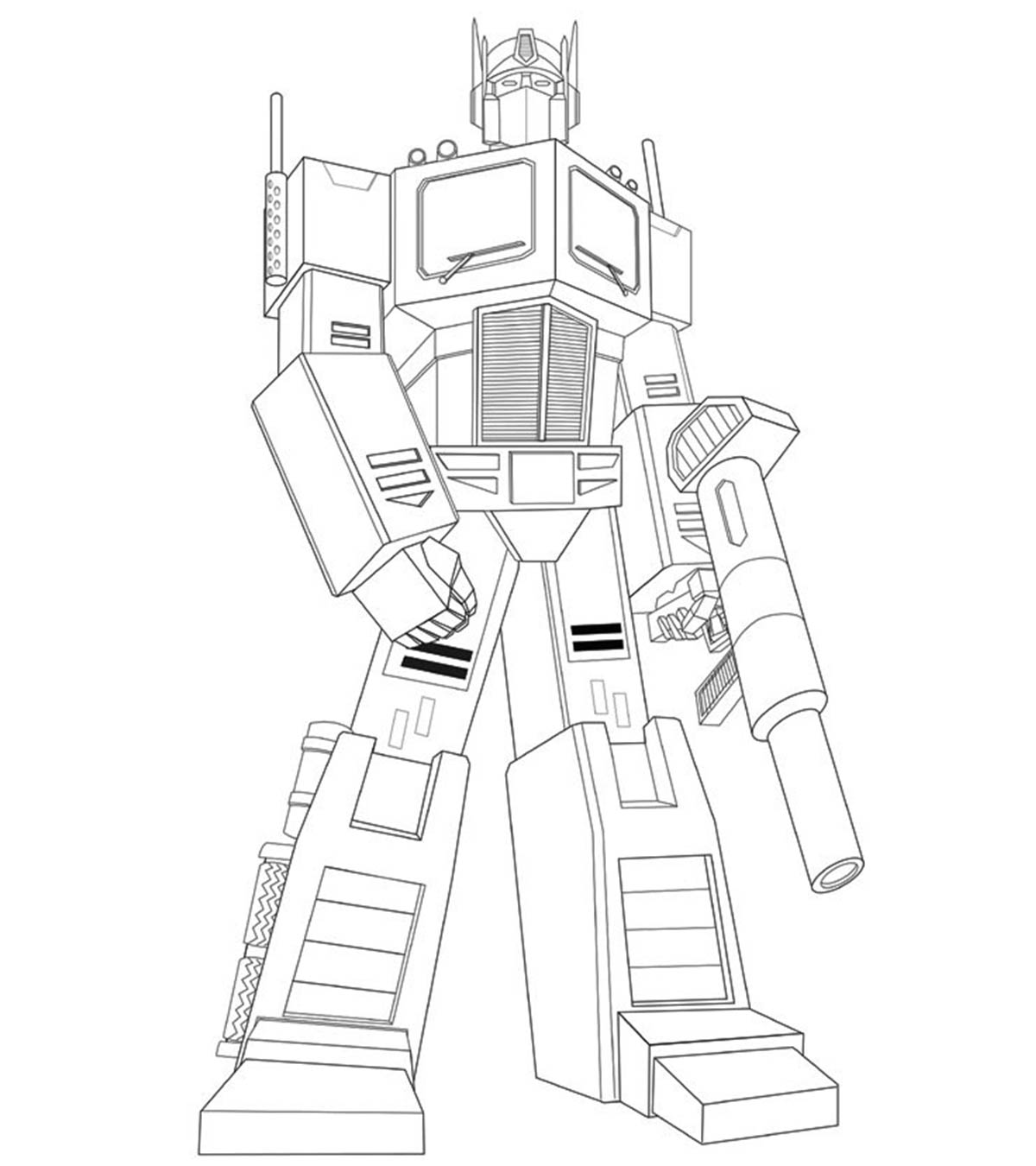 470 Transformers Cartoon Coloring Pages Pictures