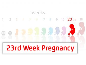 23rd Week Pregnancy: Symptoms, Baby Development And Bodily Changes