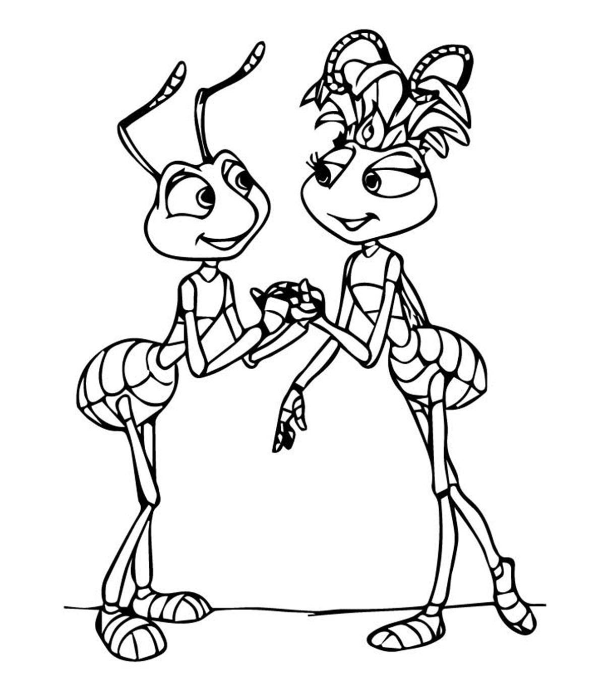 Free Printable Ants Coloring Pages