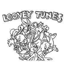 Looney-Tunes-Coloring-Pages-Printable