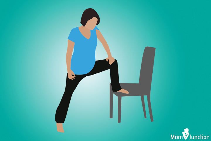 Lunging position