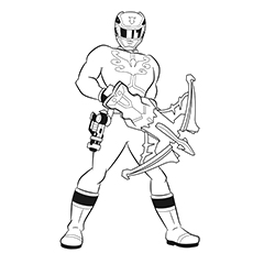 Power-rangers-coloring-page