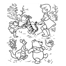 The-Christopher-Robin-coloring-page