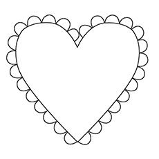 Colornig Sheet Heart Shape