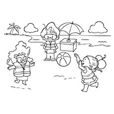 The-Playing-Beach-Ball