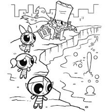 Powerpuff Solve to Color