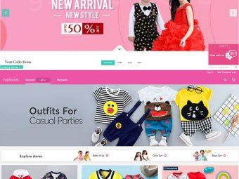 Top 9 Clothing Websites For Kids