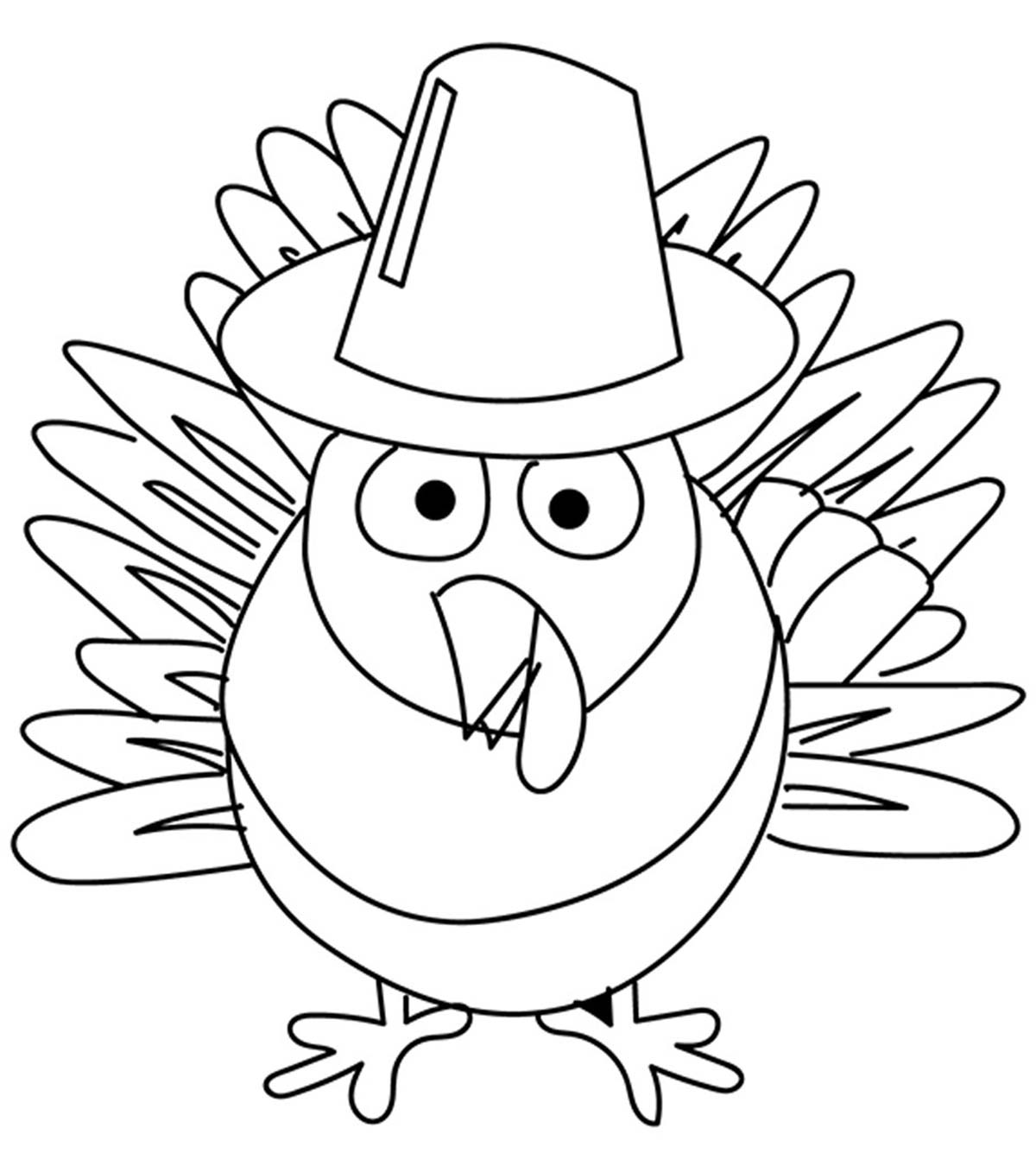 - Top 10 Free Printable Thanksgiving Turkey Coloring Pages Online