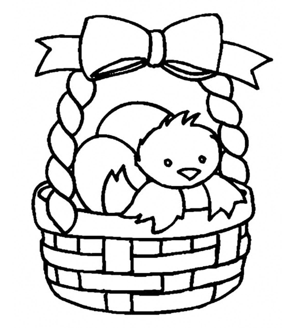 - Top 10 Free Printable Easter Basket Coloring Pages Online