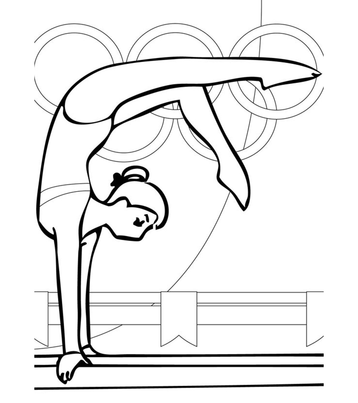 Pin on Exercise Coloring Pages | 1350x1200