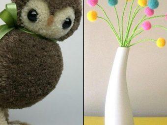 5 Adorable Pom Pom Crafts For Kids