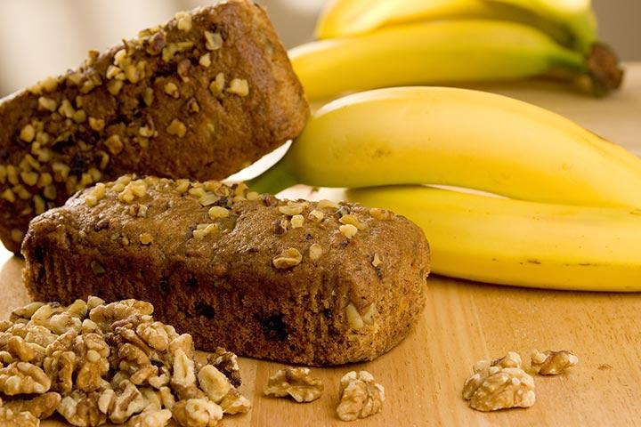 Banana Bread With Chocolate Chunks